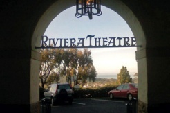 Entry way of the Santa Barbara Riviera Theater. (Photo credit: sbmerge.com)