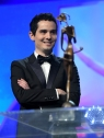 PALM SPRINGS, CA - JANUARY 02: Director Damien Chazelle speaks onstage at the 28th Annual Palm Springs International Film Festival Film Awards Gala at the Palm Springs Convention Center on January 2, 2017 in Palm Springs, California. (Photo by Charley Gallay/Getty Images for Palm Springs International Film Festival)