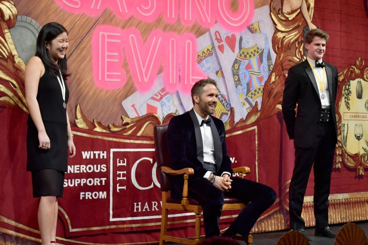 Hasty Pudding Theatricals Honors Ryan Reynolds as 2017 Man Of The Year
