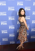Ali Cobrin from ONE LAST NIGHT walks the red carpet at the 33rd annual Santa Barbara International Film Festival's American Riviera Tribute honoring actor Sam Rockwell, February 7th, 2017. (Photo credit: Larry Gleeson/HollywoodGlee)