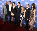 Director and cast from ONE LAST NIGHT on the red carpet at the 33rd annual Santa Barbara International Film Festival's American Riviera Tribute honoring actor Sam Rockwell, February 7th, 2017. (Photo credit: Larry Gleeson/HollywoodGlee)