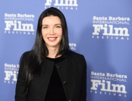 Olya Schechter, Director of A SNIPER'S WAR, walks the red carpet at the 33rd annual Santa Barbara International Film Festival's American Riviera Tribute honoring actor Sam Rockwell, February 7th, 2017. (Photo credit: Larry Gleeson/HollywoodGlee)