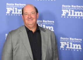 Brian Baumgartner from ONE LAST NIGHT walks the red carpet at the 33rd annual Santa Barbara International Film Festival's American Riviera Tribute honoring actor Sam Rockwell, February 7th, 2017. (Photo credit: Larry Gleeson/HollywoodGlee)